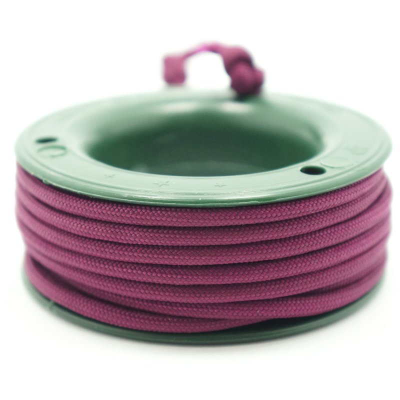 550 PARACORD MINI SPOOL - MAROON - Hock Gift Shop | Army Online Store in Singapore
