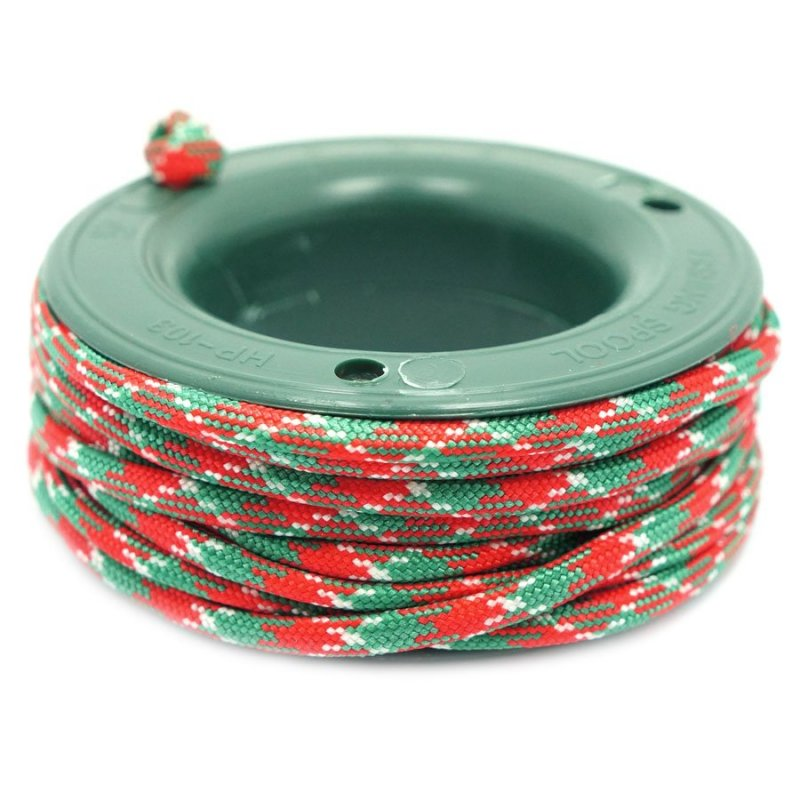 550 PARACORD MINI SPOOL - MERRY XMAS - Hock Gift Shop | Army Online Store in Singapore