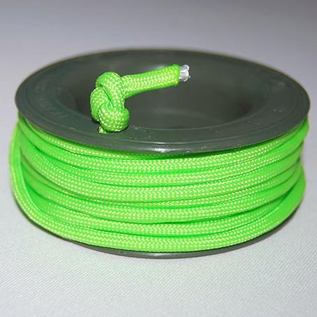 550 PARACORD MINI SPOOL - NEON GREEN - Hock Gift Shop | Army Online Store in Singapore