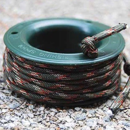 550 PARACORD MINI SPOOL - OLIVE GREEN CAMO - Hock Gift Shop | Army Online Store in Singapore
