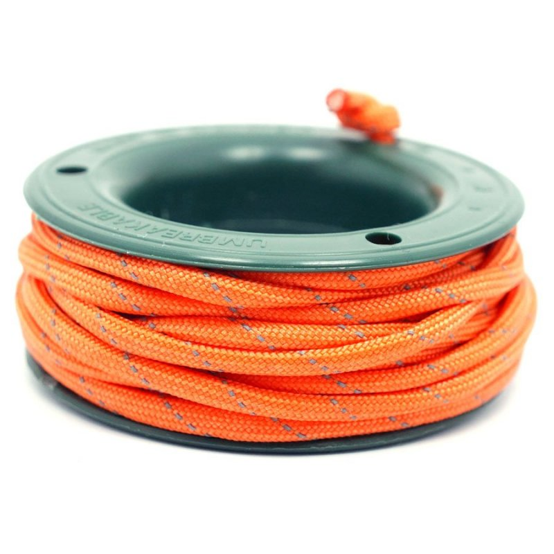 550 PARACORD MINI SPOOL - ORANGE REFLECTIVE - Hock Gift Shop | Army Online Store in Singapore