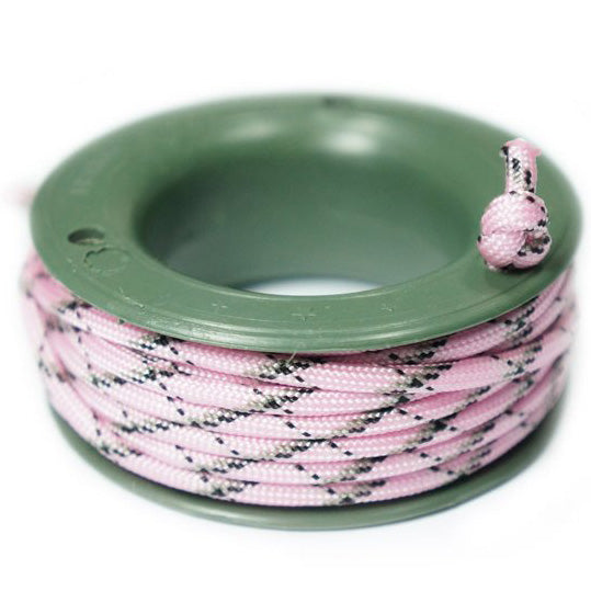 550 PARACORD MINI SPOOL - PINK CAMO - Hock Gift Shop | Army Online Store in Singapore