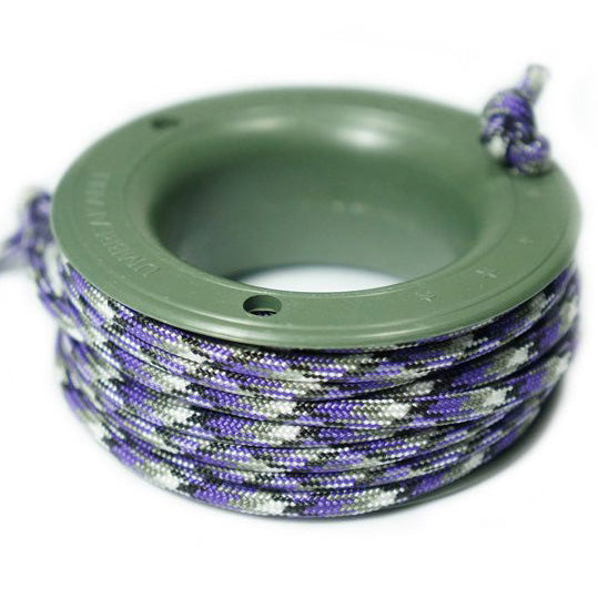550 PARACORD MINI SPOOL - PURPLE CAMO - Hock Gift Shop | Army Online Store in Singapore