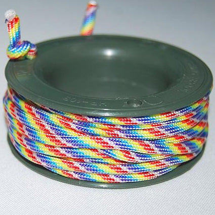 550 PARACORD MINI SPOOL - RAINBOW - Hock Gift Shop | Army Online Store in Singapore