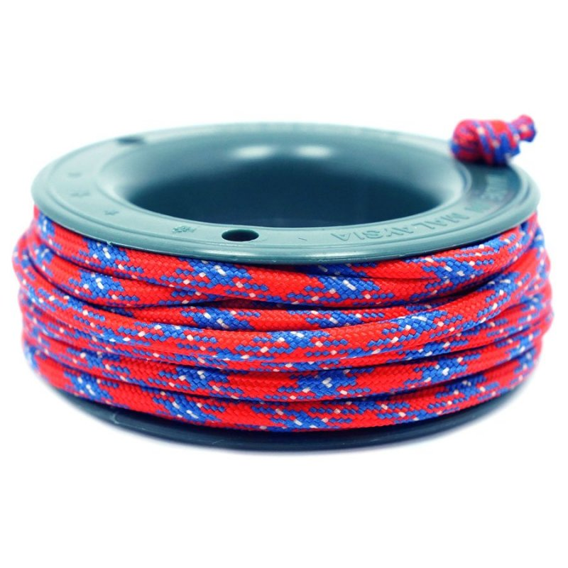 550 PARACORD MINI SPOOL - RED MOON - Hock Gift Shop | Army Online Store in Singapore