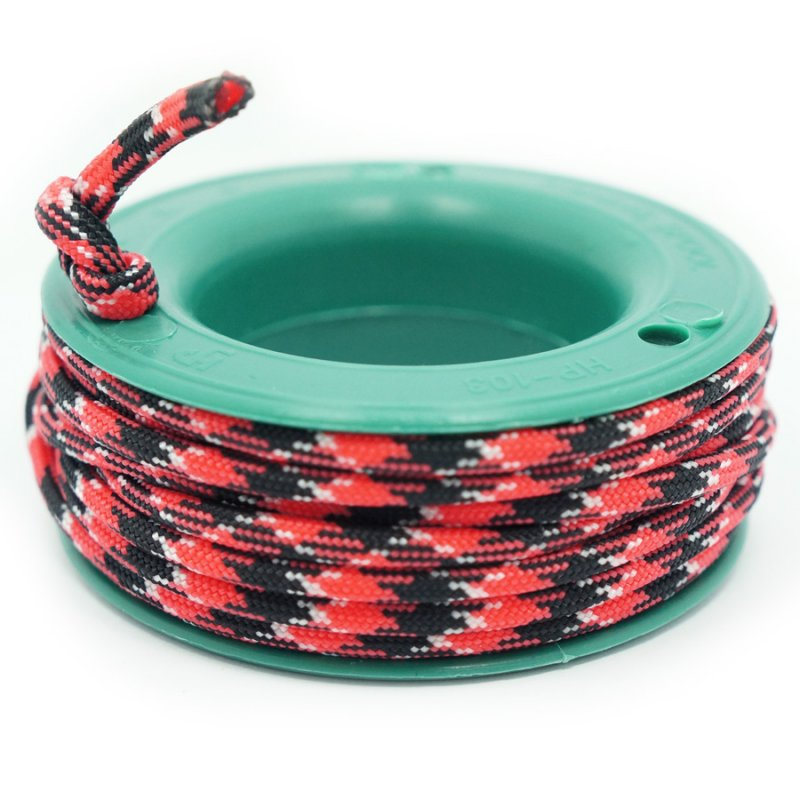 550 PARACORD MINI SPOOL - RED TIGER CAMO - Hock Gift Shop | Army Online Store in Singapore