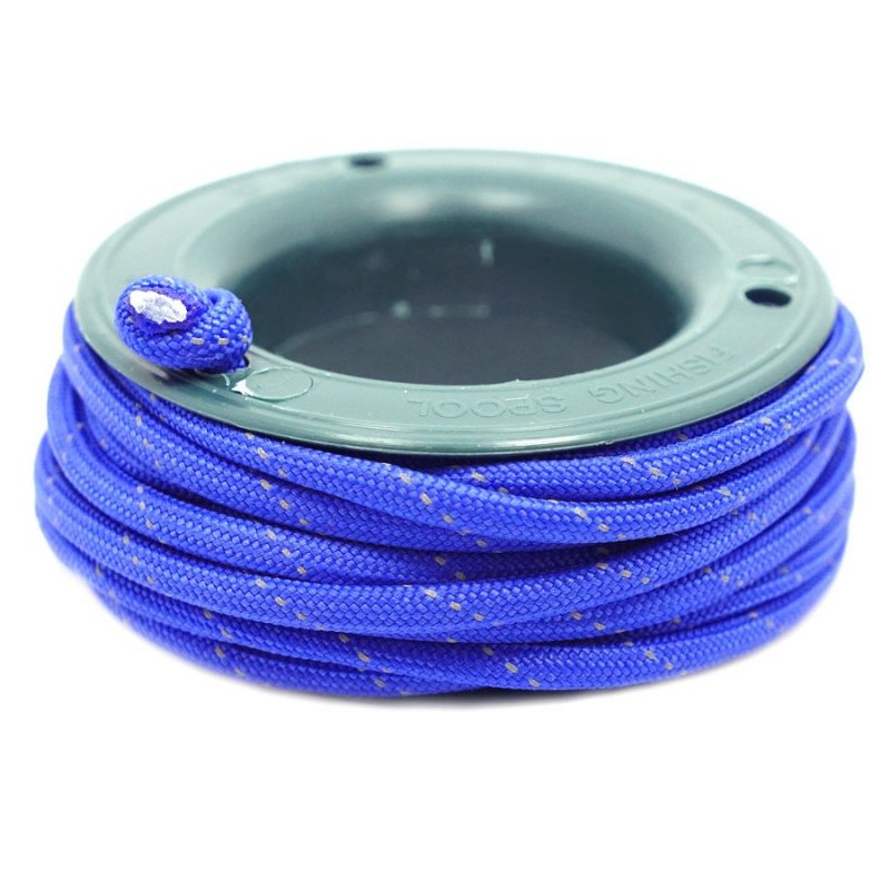 550 PARACORD MINI SPOOL - ROYAL BLUE REFLECTIVE - Hock Gift Shop | Army Online Store in Singapore