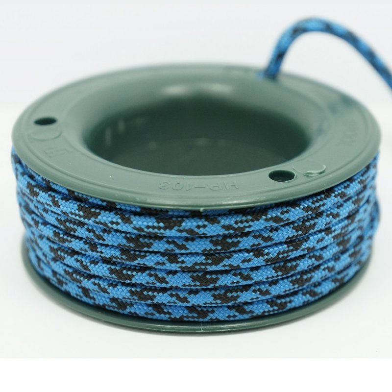 550 PARACORD MINI SPOOL - SKY BLACK CAMO - Hock Gift Shop | Army Online Store in Singapore