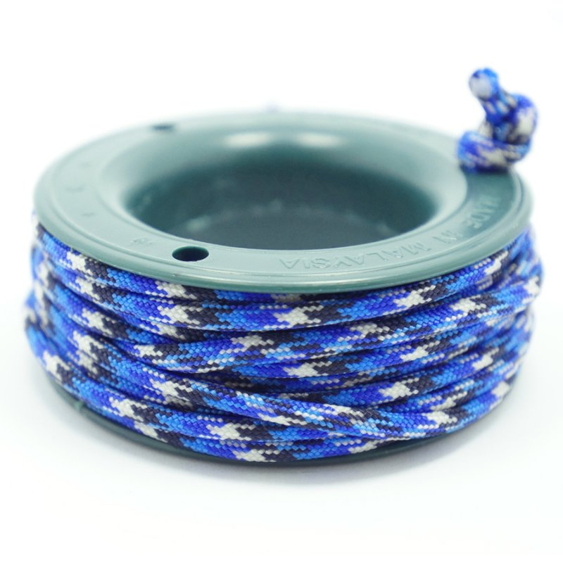 550 PARACORD MINI SPOOL - SKY BLUE CAMO - Hock Gift Shop | Army Online Store in Singapore