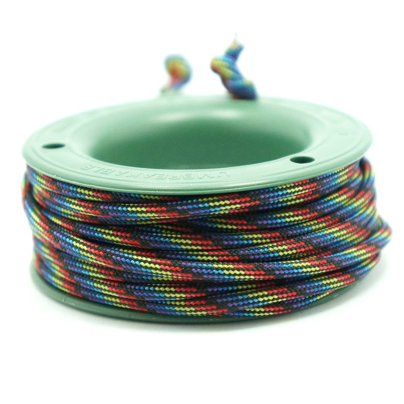 550 PARACORD MINI SPOOL - SPECTRUM - Hock Gift Shop | Army Online Store in Singapore