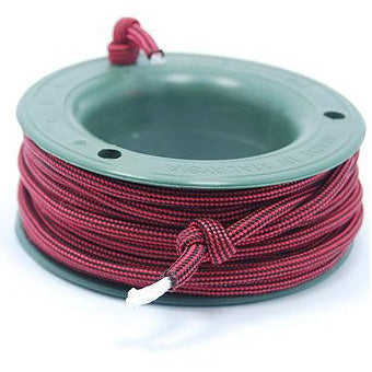 550 PARACORD MINI SPOOL - WINE RED - Hock Gift Shop | Army Online Store in Singapore