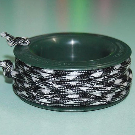 550 PARACORD MINI SPOOL - ZEBRA - Hock Gift Shop | Army Online Store in Singapore