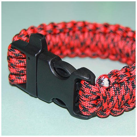 550 PARACORD SURVIVAL BRACELET - BLACK WIDOW - Hock Gift Shop | Army Online Store in Singapore