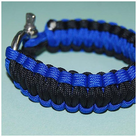 550 PARACORD SURVIVAL BRACELET - BLUE POISON DART FROG - Hock Gift Shop | Army Online Store in Singapore