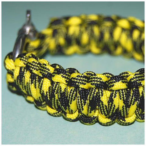 550 PARACORD SURVIVAL BRACELET - BUMBLE BEE - Hock Gift Shop | Army Online Store in Singapore
