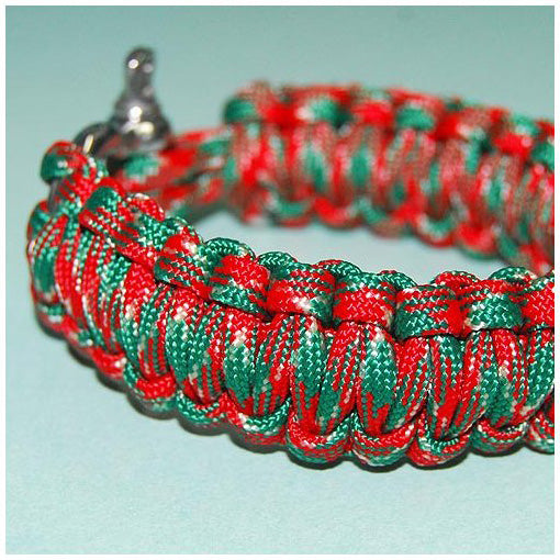 550 PARACORD SURVIVAL BRACELET - MERRY XMAS - Hock Gift Shop | Army Online Store in Singapore