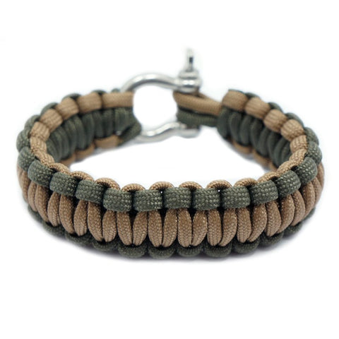 550 PARACORD SURVIVAL BRACELET - MUDMAN - Hock Gift Shop | Army Online Store in Singapore