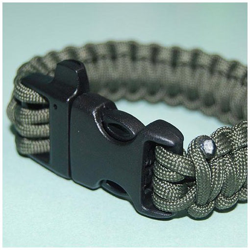 550 PARACORD SURVIVAL BRACELET - OD GREEN - Hock Gift Shop | Army Online Store in Singapore