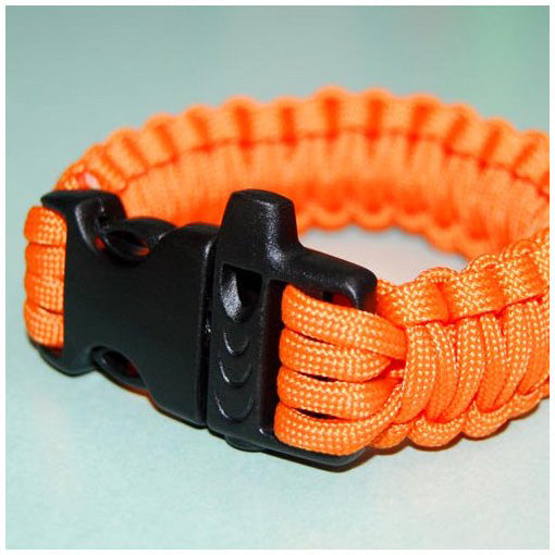 550 PARACORD SURVIVAL BRACELET - ORANGE - Hock Gift Shop | Army Online Store in Singapore