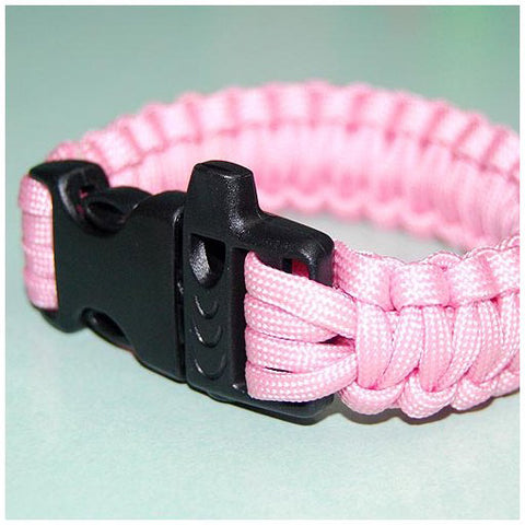 550 PARACORD SURVIVAL BRACELET - PRETTY IN PINK - Hock Gift Shop | Army Online Store in Singapore
