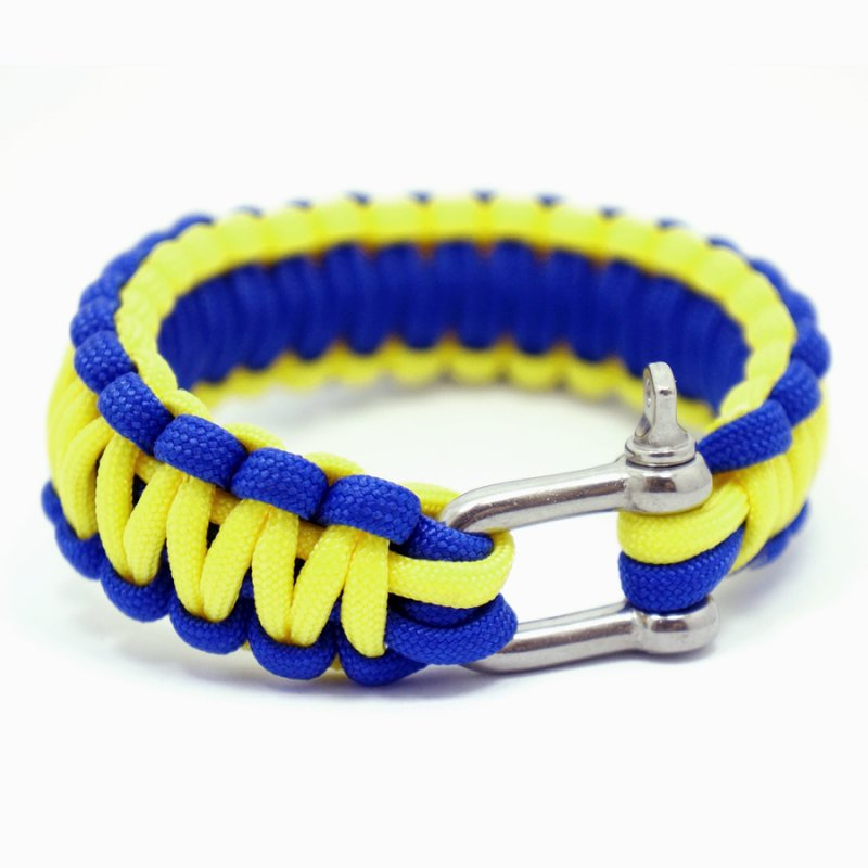 550 PARACORD SURVIVAL BRACELET - SWEDEN - Hock Gift Shop | Army Online Store in Singapore