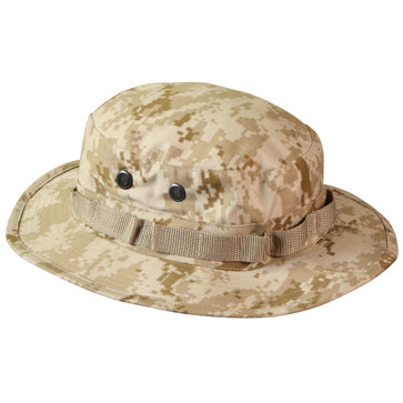 ROTHCO DIGITAL CAMO POLY/COTTON BOONIE HAT - DESERT DIGITAL - Hock Gift Shop | Army Online Store in Singapore