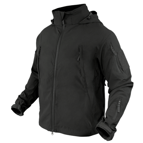 CONDOR SUMMIT ZERO LIGHTWEIGHT SOFT SHELL JACKET - BLACK