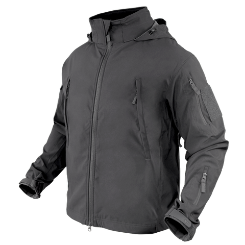 CONDOR SUMMIT ZERO LIGHTWEIGHT SOFT SHELL JACKET - GRAPHITE