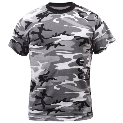 ROTHCO CAMO T-SHIRT - CITY CAMO - Hock Gift Shop | Army Online Store in Singapore