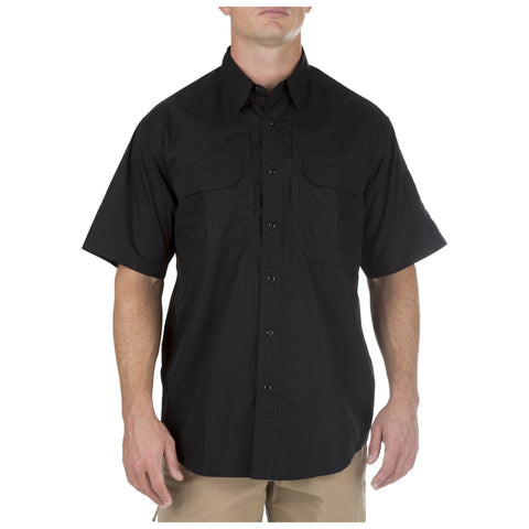 5.11 TACLITE PRO SHORT SLEEVE SHIRT - BLACK - Hock Gift Shop | Army Online Store in Singapore