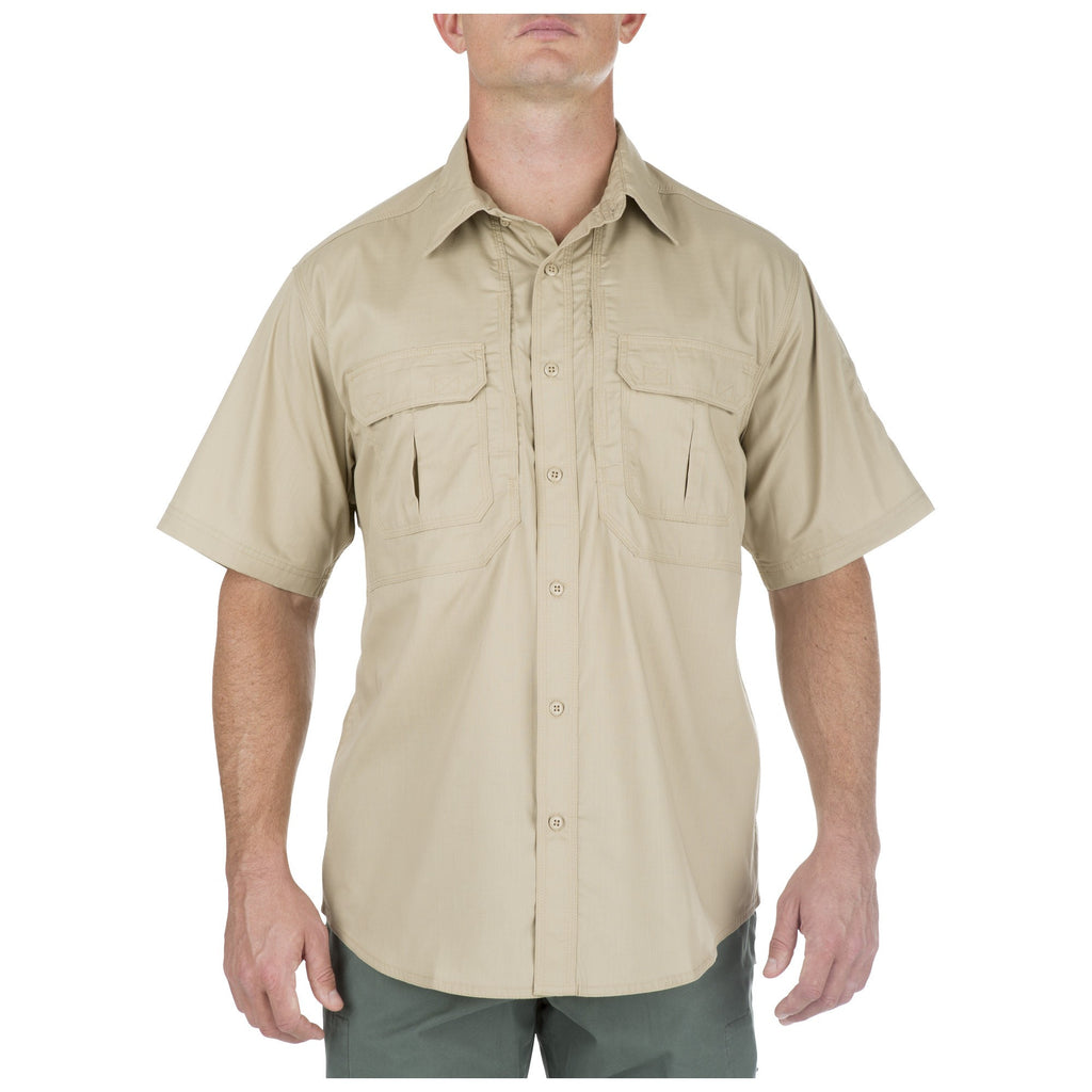 5.11 TACLITE PRO SHORT SLEEVE SHIRT - TDU KHAKI - Hock Gift Shop | Army Online Store in Singapore