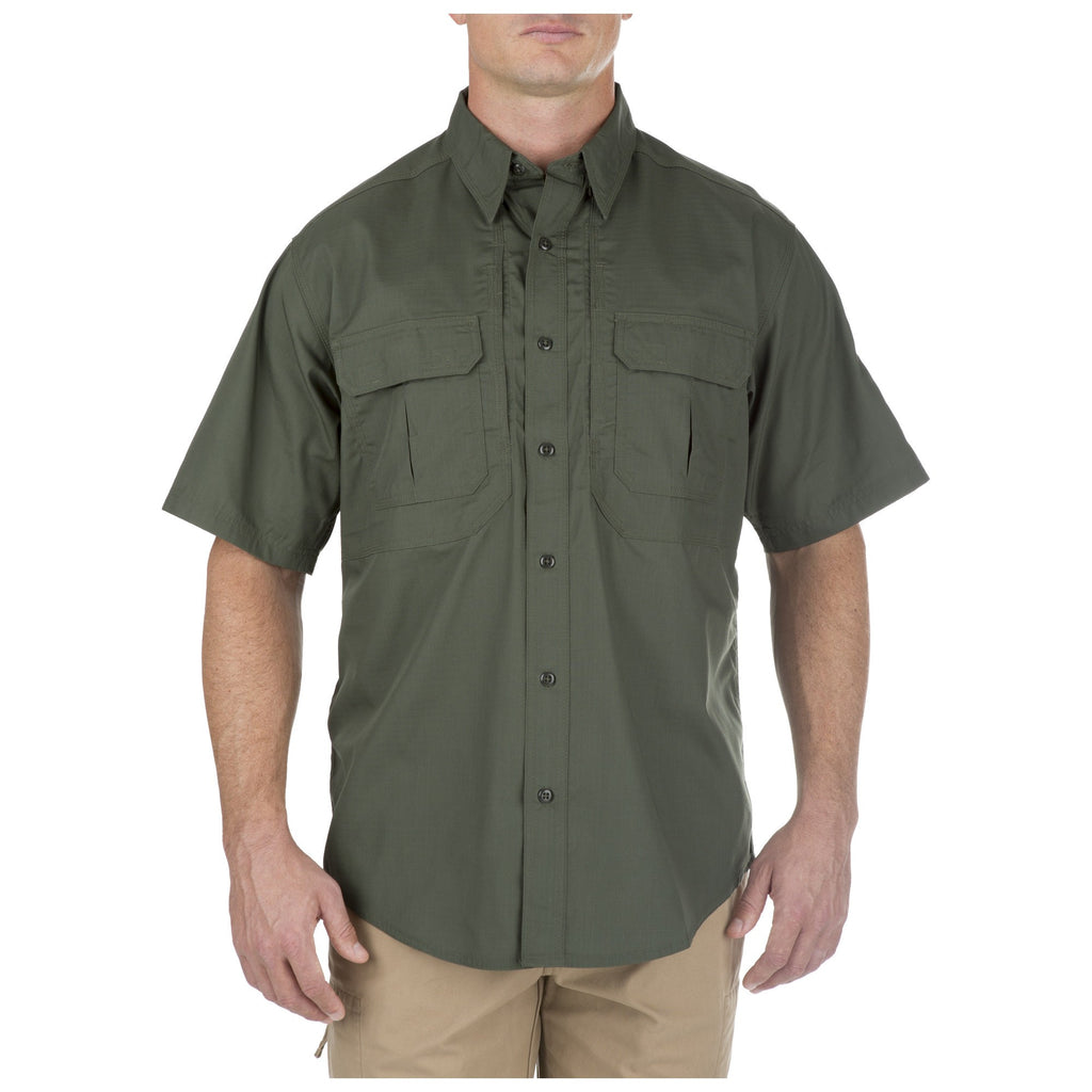5.11 TACLITE PRO SHORT SLEEVE SHIRT - TDU GREEN - Hock Gift Shop | Army Online Store in Singapore