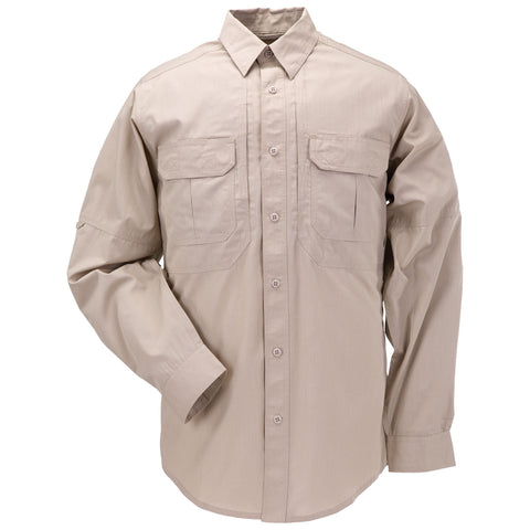 5.11 TACLITE PRO LONG SLEEVE SHIRT - TDU KHAKI - Hock Gift Shop | Army Online Store in Singapore