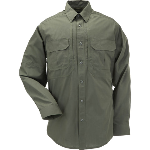5.11 TACLITE PRO LONG SLEEVE SHIRT - TDU GREEN - Hock Gift Shop | Army Online Store in Singapore