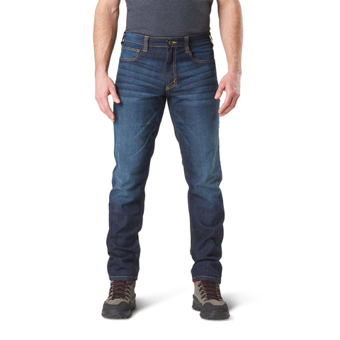 5.11 DEFENDER FLEX SLIM JEAN - DARK WASH INDIGO - Hock Gift Shop | Army Online Store in Singapore