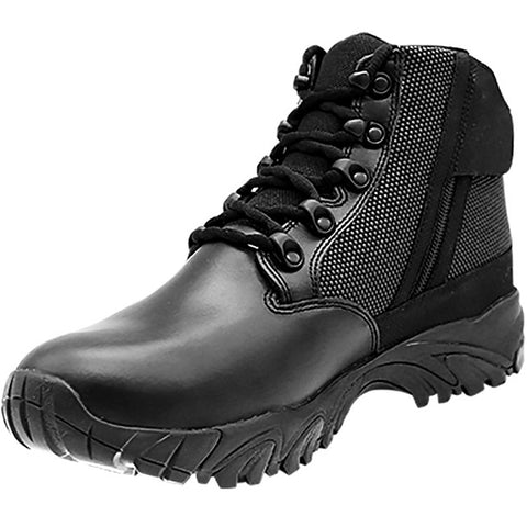 "ALTAI™ 6"" WATERPROOF SIDE ZIP UNIFORM BOOTS - BLACK"