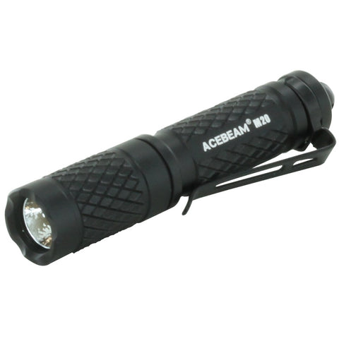 ACEBEAM KEYCHAIN LIGHT - BLACK - 150 LUMENS (M20)