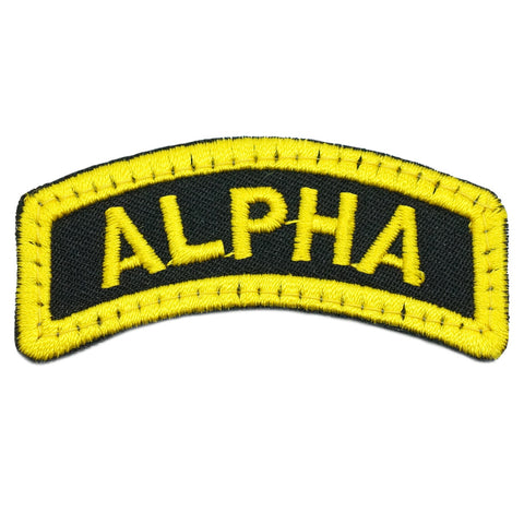 ALPHA TAB - BLACK YELLOW