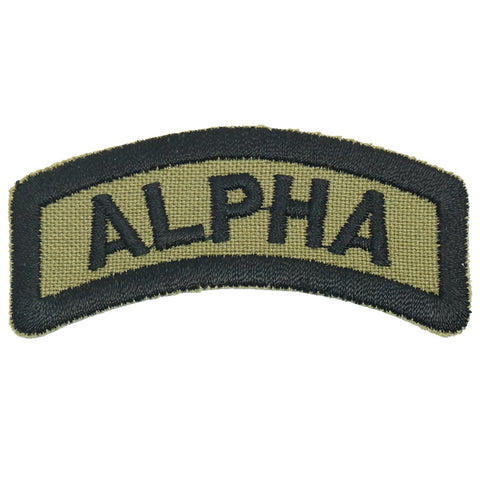 ALPHA TAB - OLIVE GREEN
