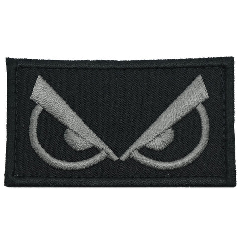 ANGRY EYES PATCH - BLACK FOLIAGE