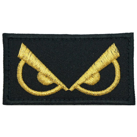 ANGRY EYES PATCH - BLACK GOLD
