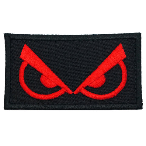 ANGRY EYES PATCH - BLACK RED