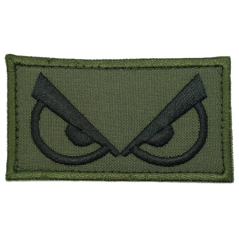 ANGRY EYES PATCH - OD GREEN