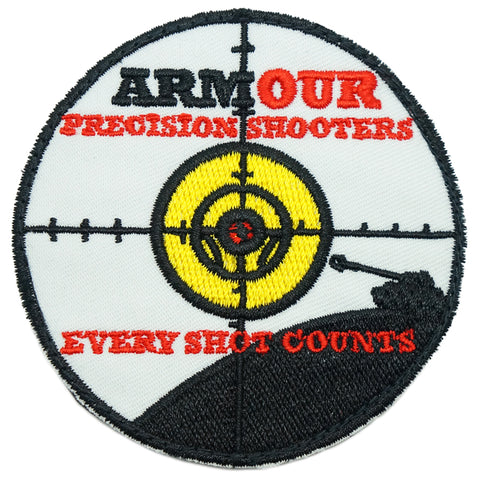 ARMOUR PRECISION SHOOTERS PATCH