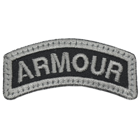 ARMOUR TAB - BLACK FOLIAGE