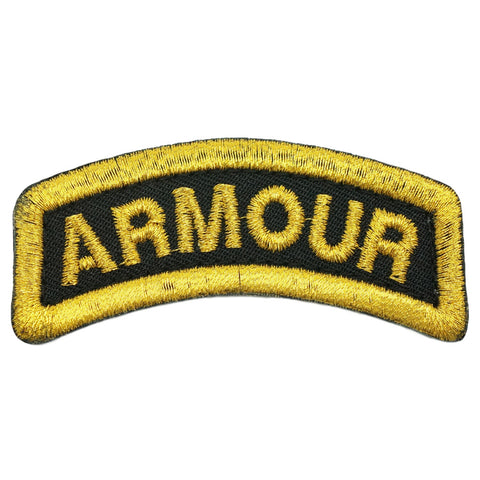 ARMOUR TAB - BLACK GOLD
