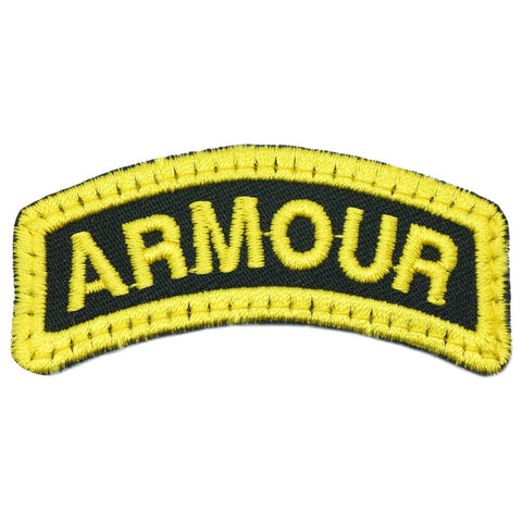 ARMOUR TAB - BLACK YELLOW