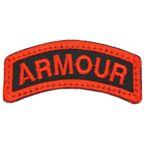 ARMOUR TAB - BLACK RED