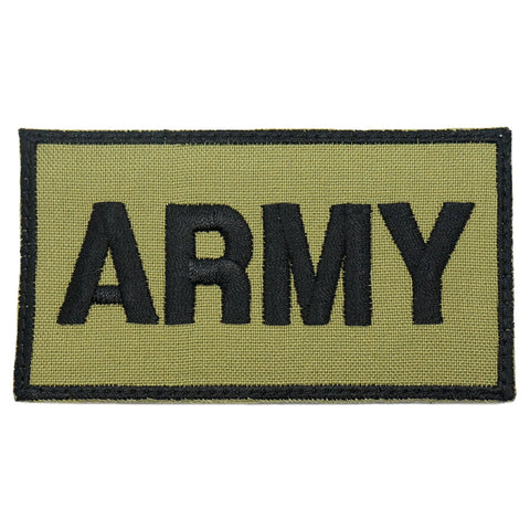 ARMY CALL SIGN PATCH - OLIVE GREEN