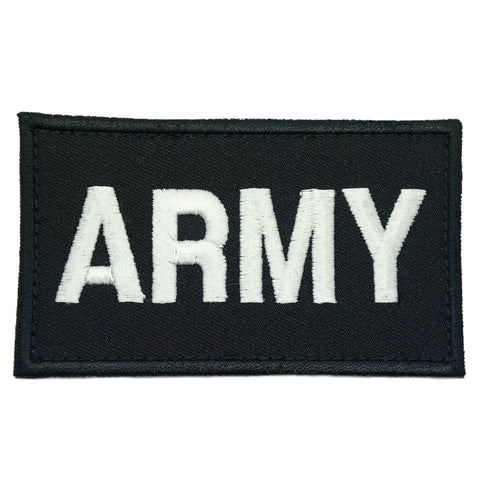 ARMY CALL SIGN PATCH - BLACK WHITE - Hock Gift Shop | Army Online Store in Singapore